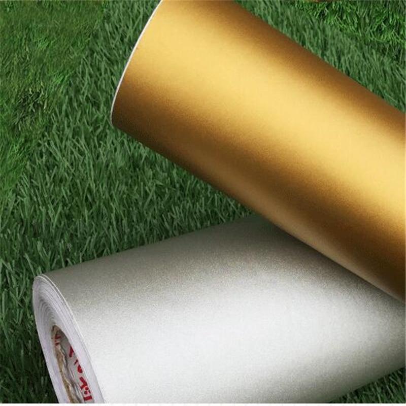 beibehang Dumb gold Asian silver waterproof self-adhesive wallpaper pvc film bedroom dormitory wardrobe furniture renovation s<br>