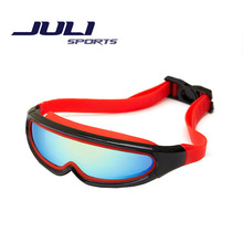 2016 Hot Shield Style Anti Fog Kids Swimming Goggles Outdoor Adjustable Children Eyeglasses For Girl / Boy Swim Glasses JL336A