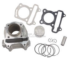44mm Cylinder Big Bore Kit Performance 60cc 139QMB GY6 50cc ATV Scooter