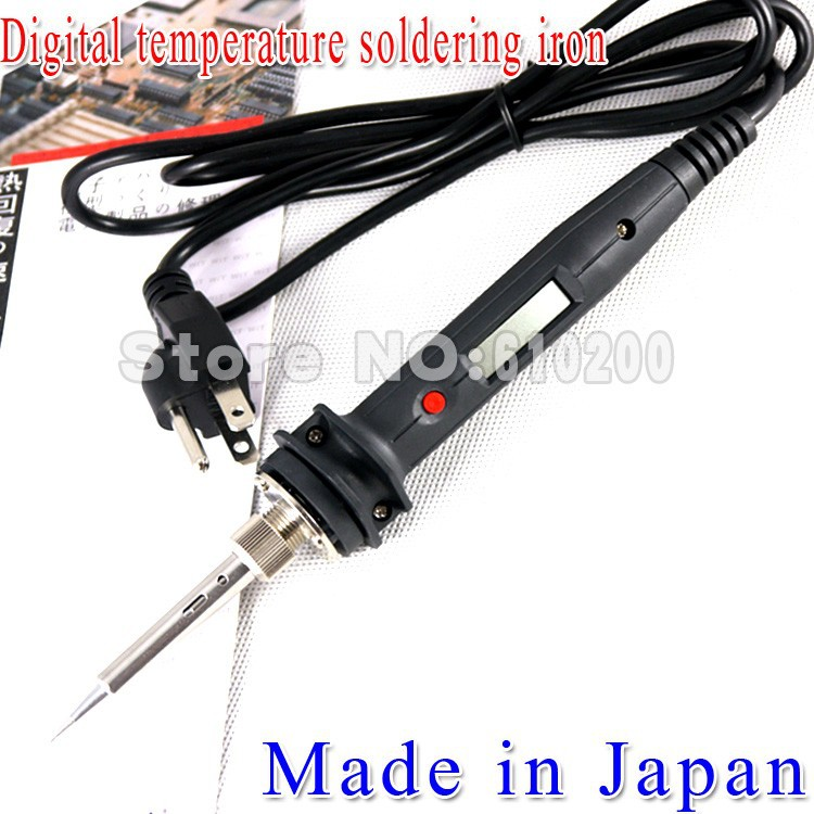 NEW 802 80W220V Digital Adjustable constant temperature thermoregulation ESD electric soldering iron FOR 936 Soldering station<br>