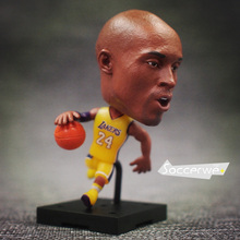 KODOTO NBA Basketball Super Star Lovely Action Figure Model Toys Fans Collection DIY Figure Doll Gift Kobe James Curry Durant