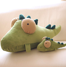 cute girl birthday gift plush toy pillow cartoon animal dinosaur plush toy, smally flying fish dinosaur stuffed doll pillow