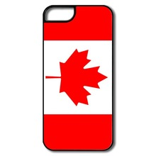 Real flag of Canada case for iPhone 4 4S 5 5S 5C 6 6S Plus Touch Samsung Galaxy S3 S4 S5 Mini S6 Edge Plus A3 A5 A7 Note 2 3 4 5