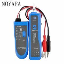 Professional Noyafa NF-806 Network Wire Tracker Telephone Wire Finder Portable Handheld RJ45 RJ11 LAN Cable Testing Tool(China)