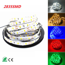 2016 NEW LED Strip Light Brighter Than 3528 3014 5630 60LEDs/M 2835 SMD LED Stripe String Flexible Ribbon Neon 5M Non-waterproof