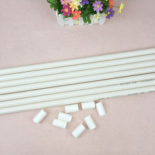 30cm PVC Sticks White Pole Connecting Rod for Balloon Arch Column Base Stand Display Rod Tube Wedding Party Event Decoration