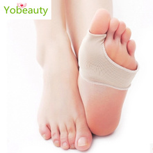 2pcs/lot Stretch Nylon Great Toe Cyst Foot Care Tool Hallux Valgus Guard Cushion Bunion Toe Separator Thumb Valgus Protector(China)