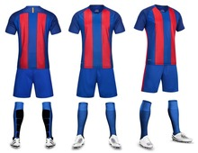 men blank soccer jerseys sets  adult plain football suits men trainning  kits sports suits short sleeve running uniforms