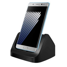 Woweinew Desktop Double Charging Cradle Stand Charger Dock + Type-C Cable For Samsung Galaxy Note 7