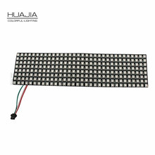 1PCS 8*8/16*16/8*32 WS2812B 256 Pixels Digital Flexible LED Programmed Panel Screen Individually Addressable Full Color DC5V
