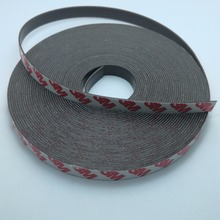 10 Meter Rubber Magnet 10*1mm self Adhesive Flexible Magnetic Strip Rubber Magnet Tape width 10mm thickness 1mm