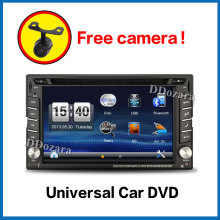 2DIN Car DVD / GPS/ CD / MP3 / mp4 / usb / sd / player Bluetooth Handsfree Rearview after Touch screen hd system(China)