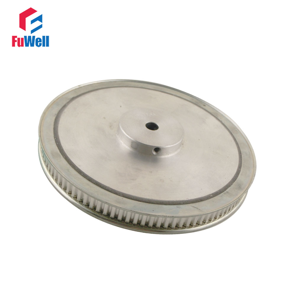 XL Type 90T Timing Pulley 8/10mm Inner Bore 11mm Belt Width 5.08mm Pitch 90Teeth Aluminum Alloy Synchronous Timing Belt Pulley<br>