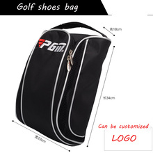 PGM golf shoes package golf travel shoes cover bag for men breathable sports golf ball bag equipment Can be customized logo