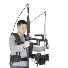 Like EASYRIG Atlas Camera Support 2-6kg video film Serene dslr DJI Ronin M 3 AXIS gimbal stabilizer steadicam vest(China)