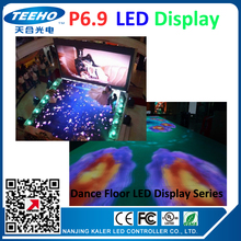 P6.9 led dancing floor LED display screen led video wall large playing video screens led advertising boards stage concertS etc