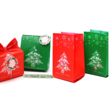 Xmas 50pcs/ Bag Christmas Kraft Paper Candy Box Gift Box For Children Kids Xmas Tree Christmas Party Festive Decoration Supplies(China)
