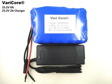24v 8ah 6S of lithium battery 25.2V 8000mah electric vehicle battery moped Rechargeable Lithium battery pack+1A charger