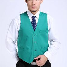Men vest Waistcoat men Suit vest  Advertising clothing  Work wear Supermarket