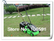 Electric mower, 220v/1000w hand push cleaner electric wheel brush grass cutter trimmer handle mower