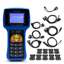 T300 Auto Key Programmer T 300 V16.8 Auto Car Transponder Decoder English or spanish Professional maker Support Multi brand Cars(China)
