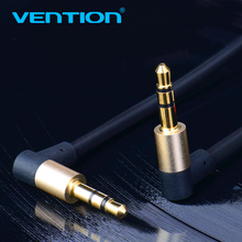 Vention AUX Cable for iPhone 3.5mm Male to Male Stereo Angle Audio Cable 3.5 jack to jack Headphone Beats Speaker AUX Cable 1m