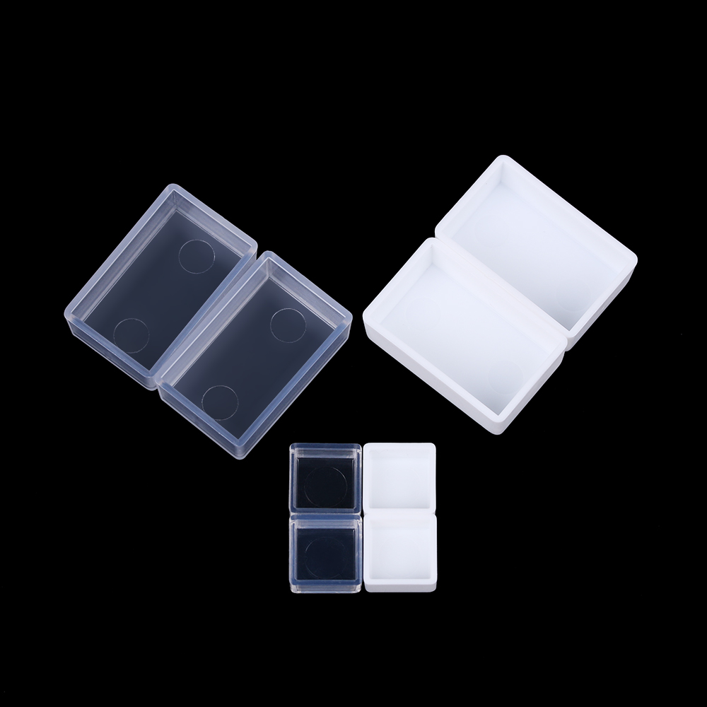 0.5/3.2ML 20/50Pcs Artists Empty Watercolor Paint Pans Painters Pigment Box Paint Case Art Palette Supplies