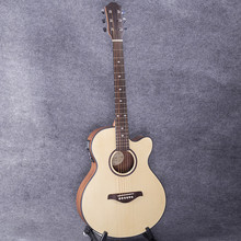 40-49 guitars 40 inch 5 EQ Electric Acoustic Guitar Picea Asperata panel Sapele wood guitarra with guitar pickup tuner strings