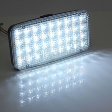 White DC 12V 36 LED Car Truck Auto Rectangle Interior Dome Roof Ceiling Light Reading Working Lamp for Auto Decoration Lights