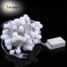 Cheap Led string lights 3 Power (Solar/AA Battery/Plug) holiday decoration lamp Festival Christmas lights outdoor lighting(China)