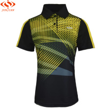 golf shirts sports series wicking breathable clothing badminton men's t-shirt table tennis clothes shirt JJ89006(China)
