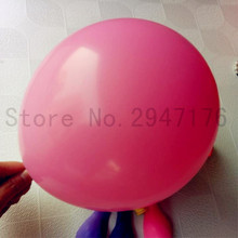 100% latex balloon 10 inch 100pcs pink wedding balloon birthday party decoration child balloon inflatable toy ball free shipping