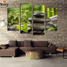 3 Panels Chinese Style Art Stone Leaves Decoration Picture Canvas Print Painting Artwork Canvas Wall Art Unframed F1767