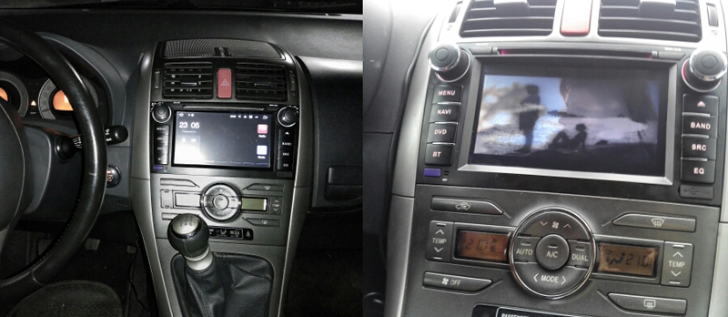 android8 auris dvd android car navigation auris verso toyota android (2)