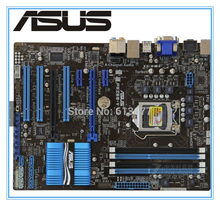 ASUS P8Z68-V LX Оригинал материнская плата DDR3 LGA 1155 Поддержка I3 I5 I7 32 Гб Z68 USB 3,0 Z68 Desktop motherborad(China)