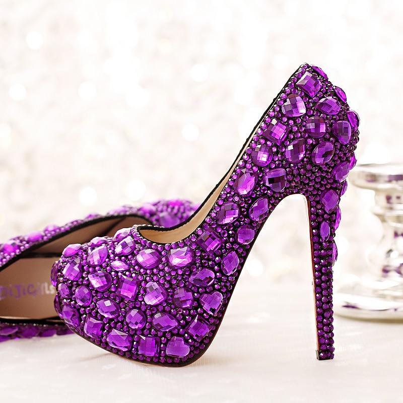 Katies Purple High Heels Wild Drive  YouTube