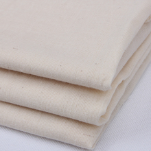 White edible gauze fabric enviromental cotton Soybeans milk filter cloth tofu steamer bread bag cloth Diy home food fabrics(China)