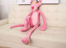 Baby Toys Plaything Cute Naughty Pink Panther Plush Stuffed Doll Toy Home Decor 40CM(China)