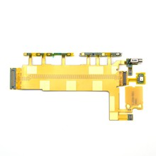 OEM Motherboard Flex Cable Ribbon for Sony Xperia Z3 Power On/Off Volume Button Switch Flex Cable Big Cable(China)
