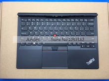 New Original for Lenovo ThinkPad X1 Tablet Thin Keyboard US Backlit PC Ultra Professional Base Pointing Trackpoint 01AW600(China)