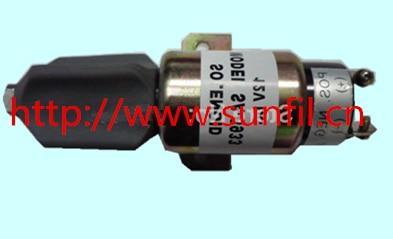 Diesel shut off solenoid 1751-12E7U1S1S5A, SA-3933-12   S6K,E200B,E320,12V<br>