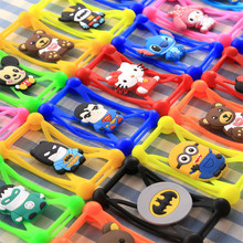 Cute Cartoon Silicone Universal Cell Phone Cases For samsung Galaxy Grand Neo plus Duos N7105 C7 A9 Note 5 A8 Note 3 4 Mega