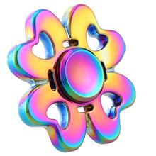 Buy Fidget Spinner Hands Spinner High Speed Bearing Titanium Alloy Toys Anxiety Stress Adults Kid Zinc alloy Clover Fidget Spinner for $6.83 in AliExpress store
