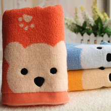 Cartoon 34*75cm Cotton Terry Hand Towels for Children Adults Face Bathroom Hand Towels C0