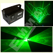 500MW Green DMX Laser Lights , Clubs / KTV / Pub DPSS Laser Lighting(China)