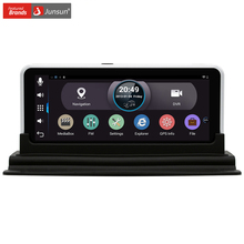 "Junsun 6.5"" Car DVR Rear view GPS Navigation Android 4.4 with DVR Camera Recorder FM WIFI Sat nav Navigator Rear view camera"