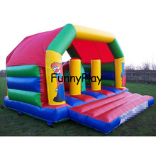Inflatable Obstacle Course playground,Inflatable castle Moonwalk Jumper,Inflatable Playground Inflatable Bouncer Bouncy House(China)