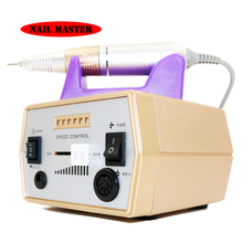 Gold electric nail drill machine professional nail polishing machine pedicure and manicure  electric file  used for nail art