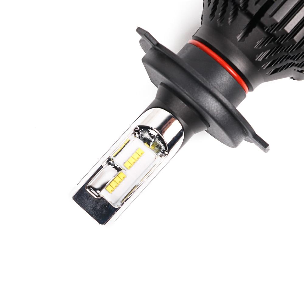 CN360 2PCS Car LED Light Headlight H4 H7 H8 H9 H11 9005 HB3 9006 HB4 12V 6500K LED Auto Bulb Headlamp Fog Lamp 60W 8000LM 10