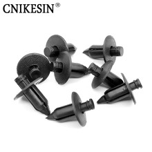 CNIKESIN 100Pcs Car Fastener Plastic Rivet Bike Fairing Trim Clips For Honda Yamaha Suzuki Kawasaki Auto Fastener car styling(China)